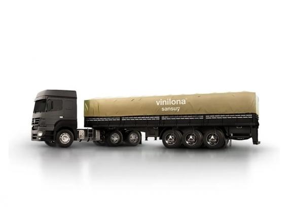 Lona metalizada para camión - Vinilona Sansuy
