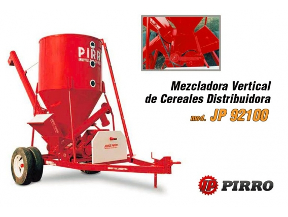 Mezcladora de cereales Pirro JP 92100