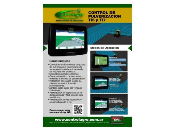 Monitor De Pulverización Ti5 Y Ti7