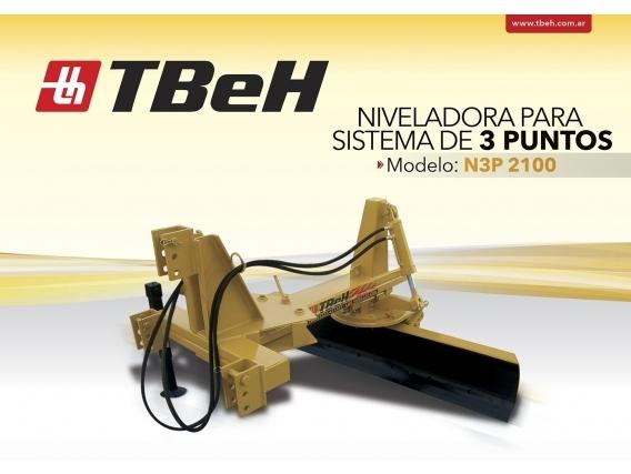 Niveladora De Arrastre Tbeh N3P 2100 AH