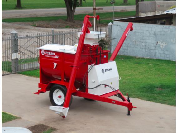 Quebradora y mezcladora de cereales Pirro JP 3300