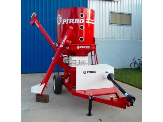 Quebradora y mezcladora vertical de cereales Pirro JP 9300
