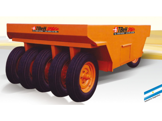 Rodillo Neumático Tbeh 9R-Ran