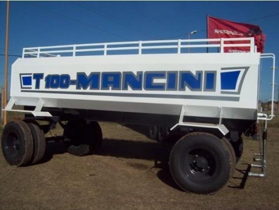 Acoplado Tanque Mancini T 100