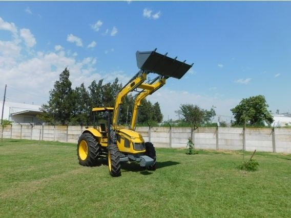 Pala Cargadora OM-600-F Euro Base. Para Tractor Pauny 210
