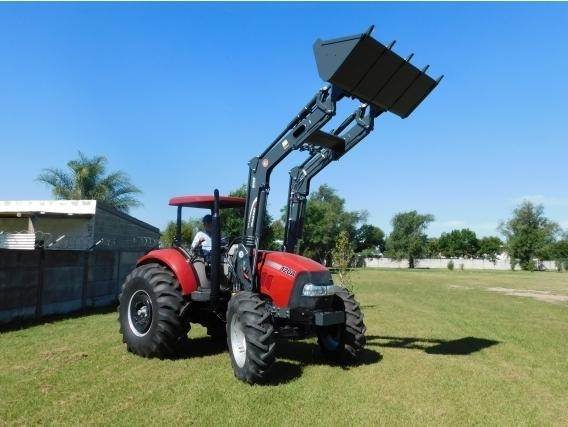 Pala Cargadora OM-600-F Euro Base. Para Tractor Case 120