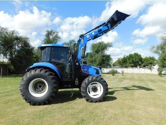 Pala Cargadora OM-600-F Euro Base (Para Tractor New Holland 6.130)