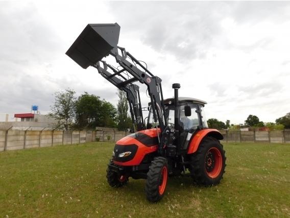 Pala Frontal Hidráulica OM-260 (Para Tractor Hanomag TR 85)